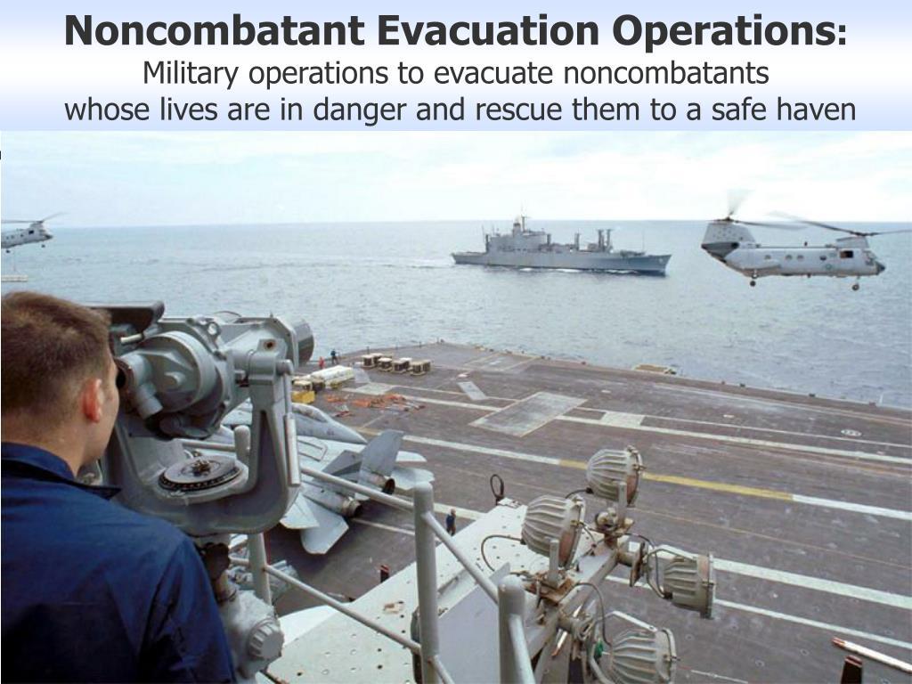 Noncombatant Evacuation Operations