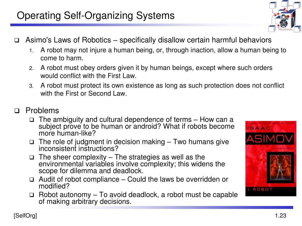 Operating Self-Organizing Systems