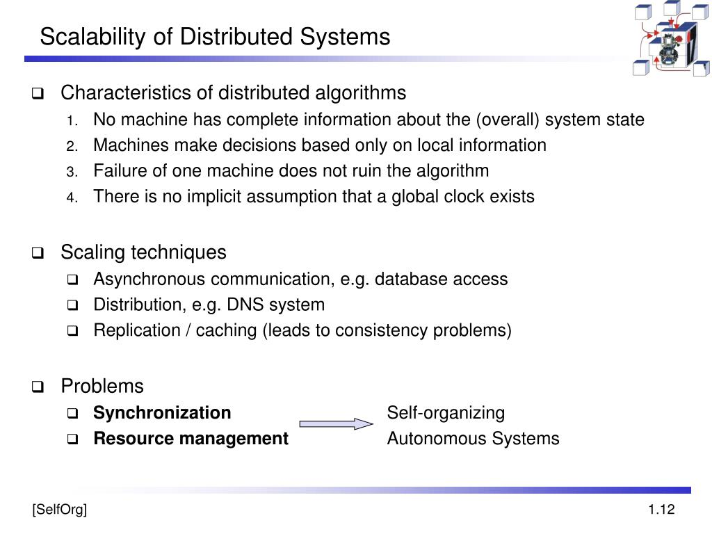 Scalability of Distributed Systems