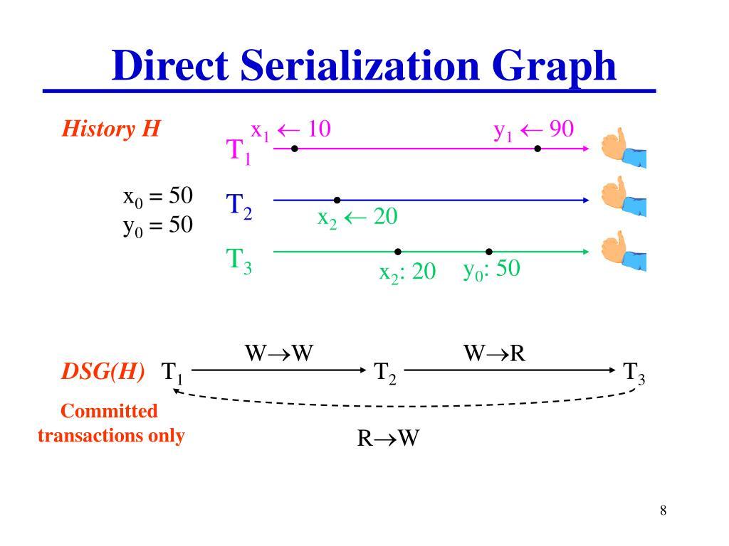 Direct Serialization Graph