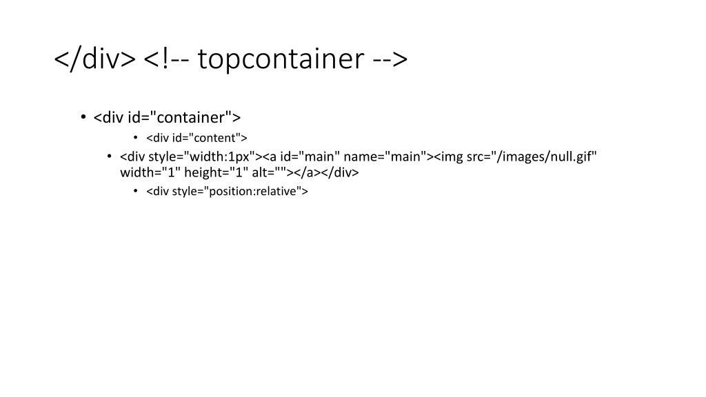 </div> <!-- topcontainer -->