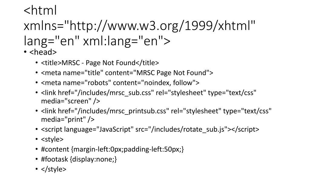 """<html xmlns=""""http://www.w3.org/1999/xhtml"""" lang=""""en"""" xml:lang=""""en"""">"""
