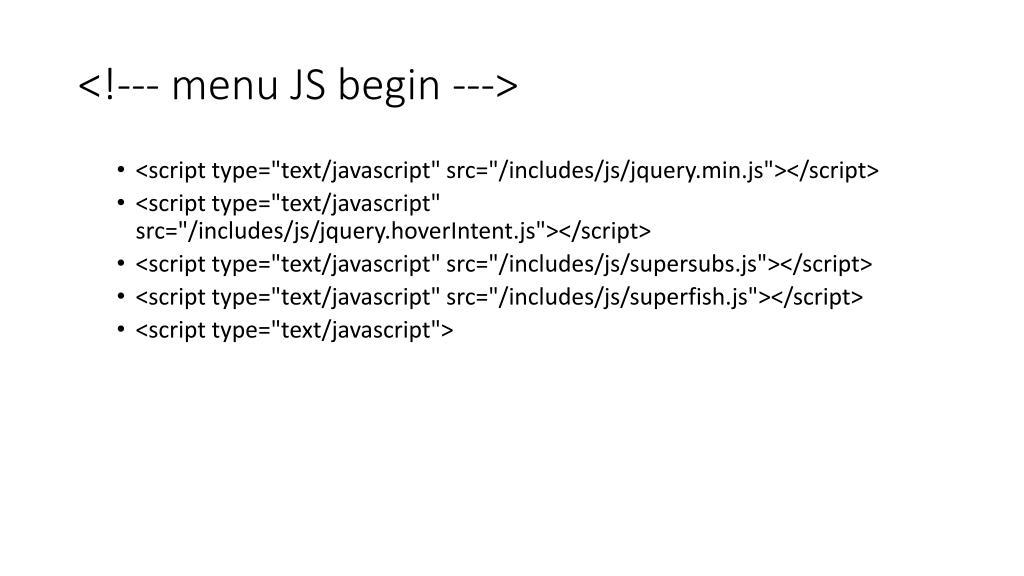 <!--- menu JS begin --->