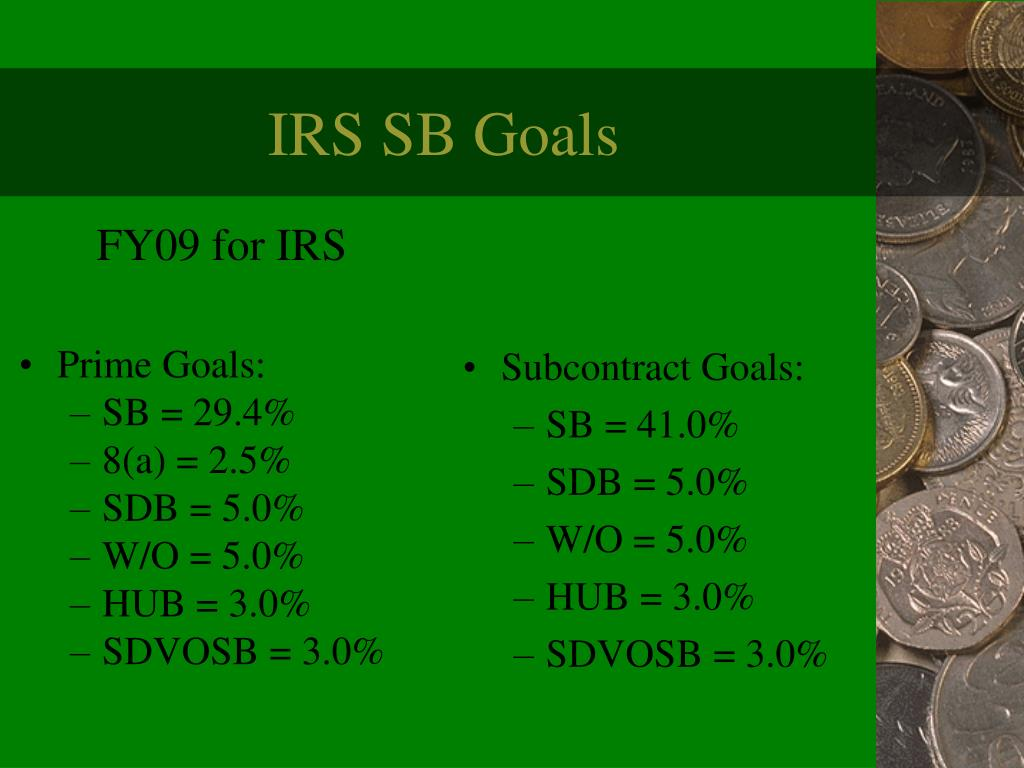 FY09 for IRS