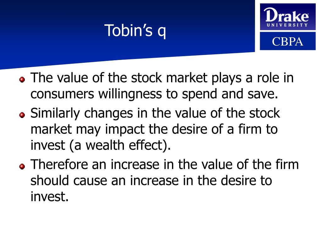 Tobin's q