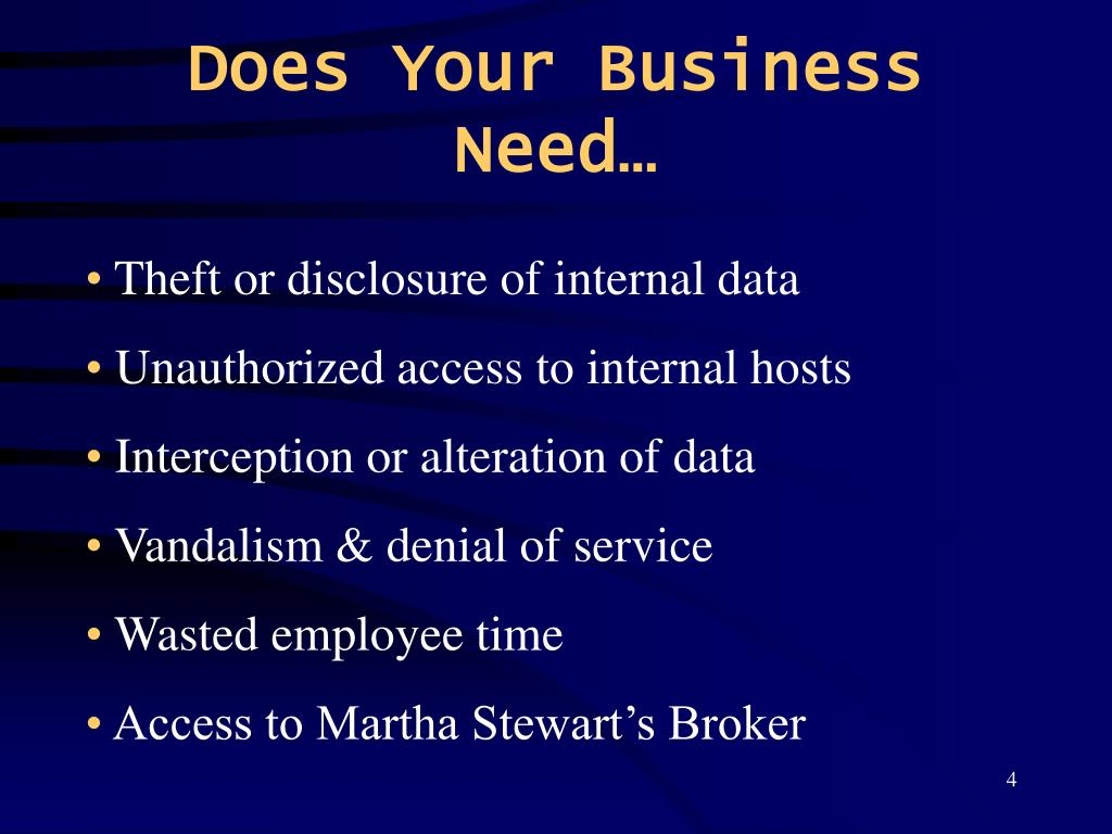 Does Your Business Need…