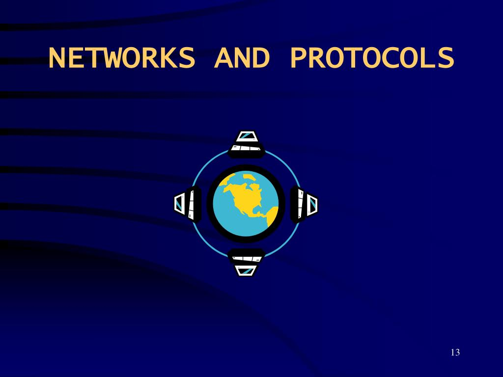 NETWORKS AND PROTOCOLS