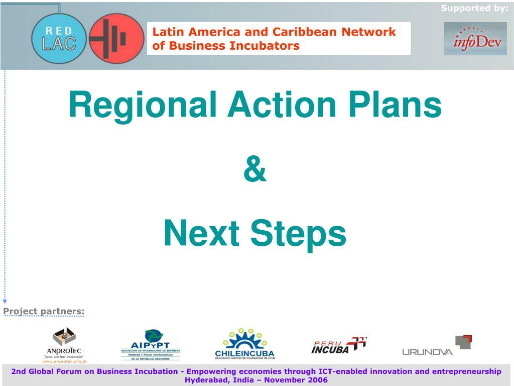 Regional Action Plans