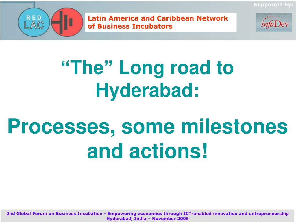 """The"" Long road to Hyderabad:"