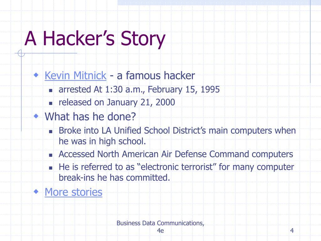 A Hacker's Story
