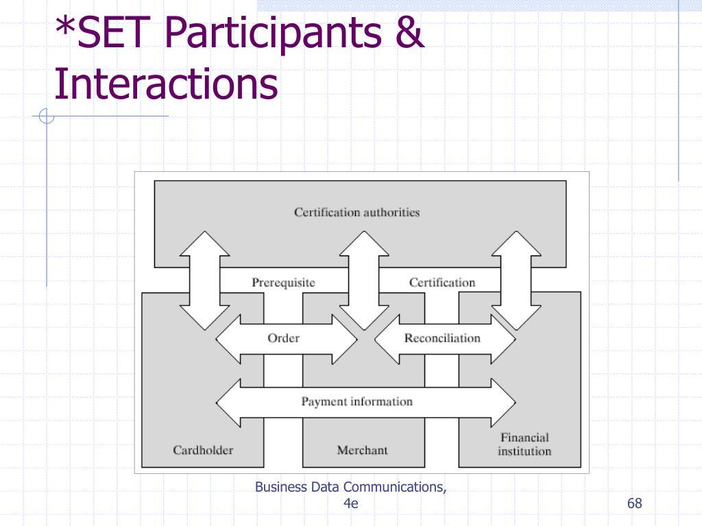 *SET Participants & Interactions