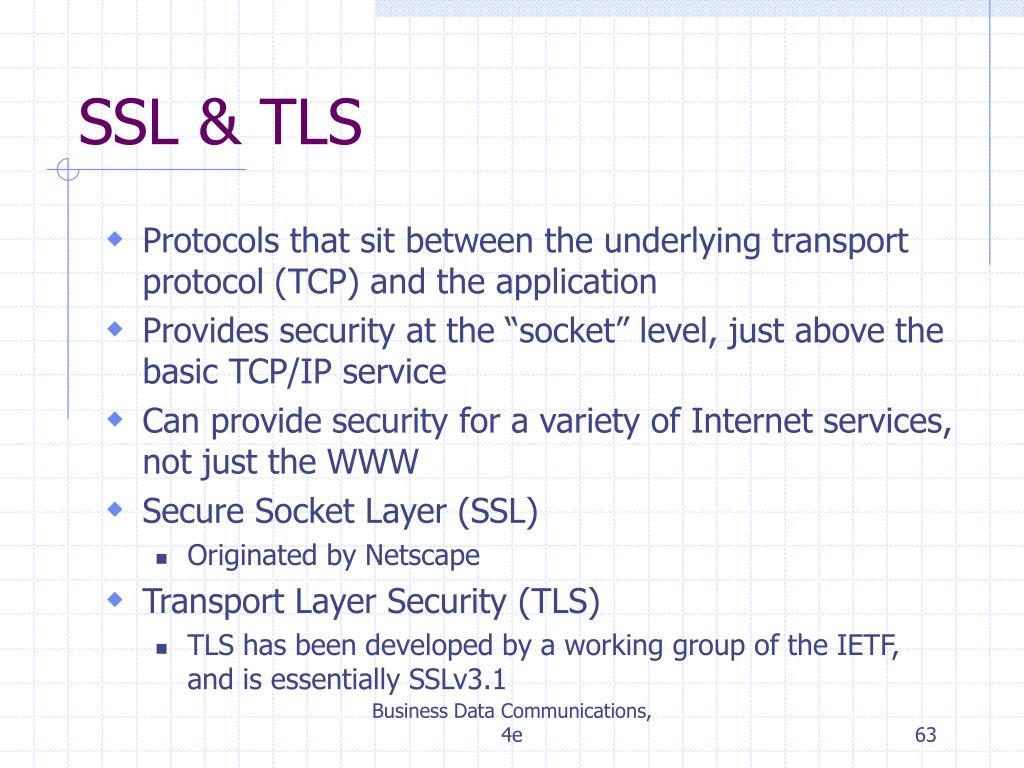SSL & TLS