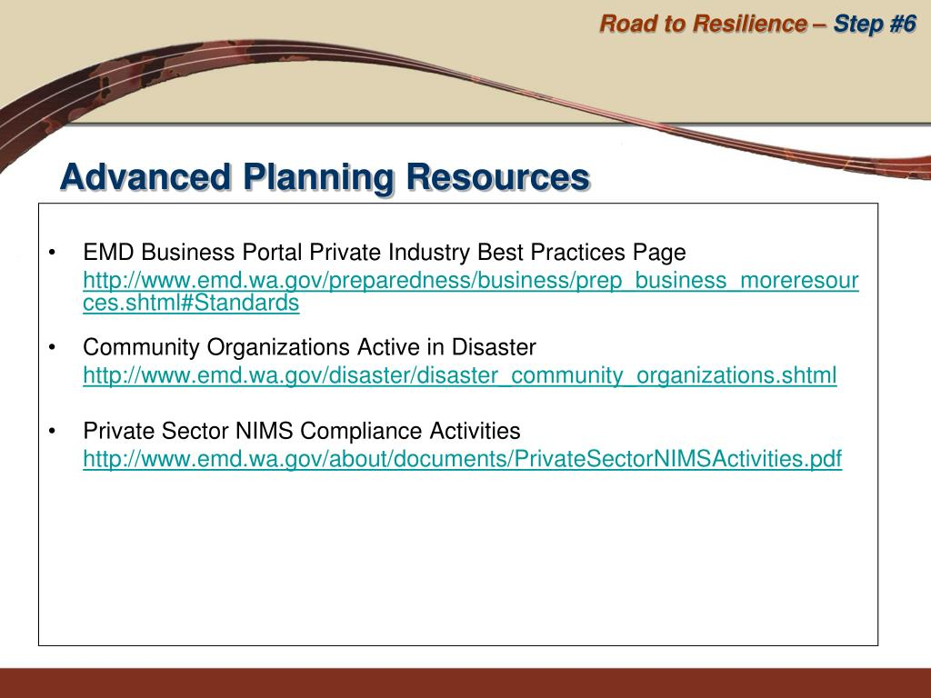 EMD Business Portal Private Industry Best Practices Page