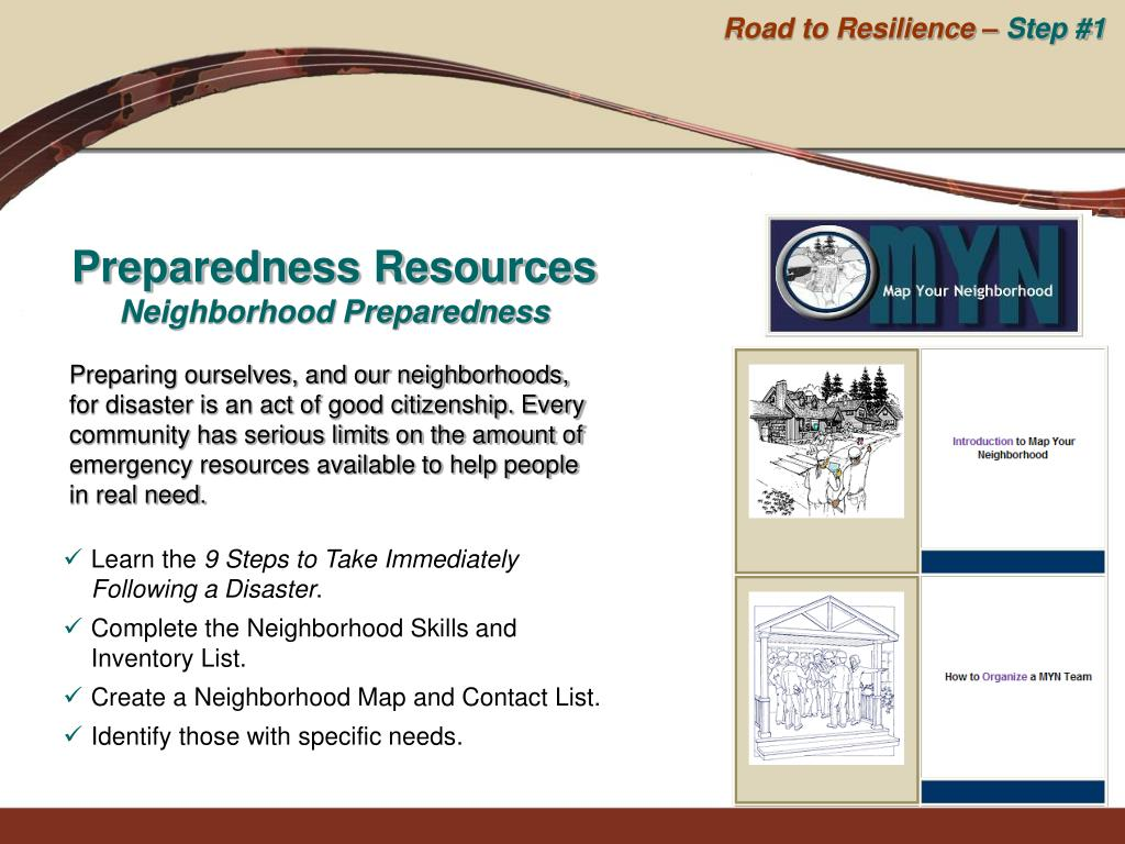 Road to Resilience –