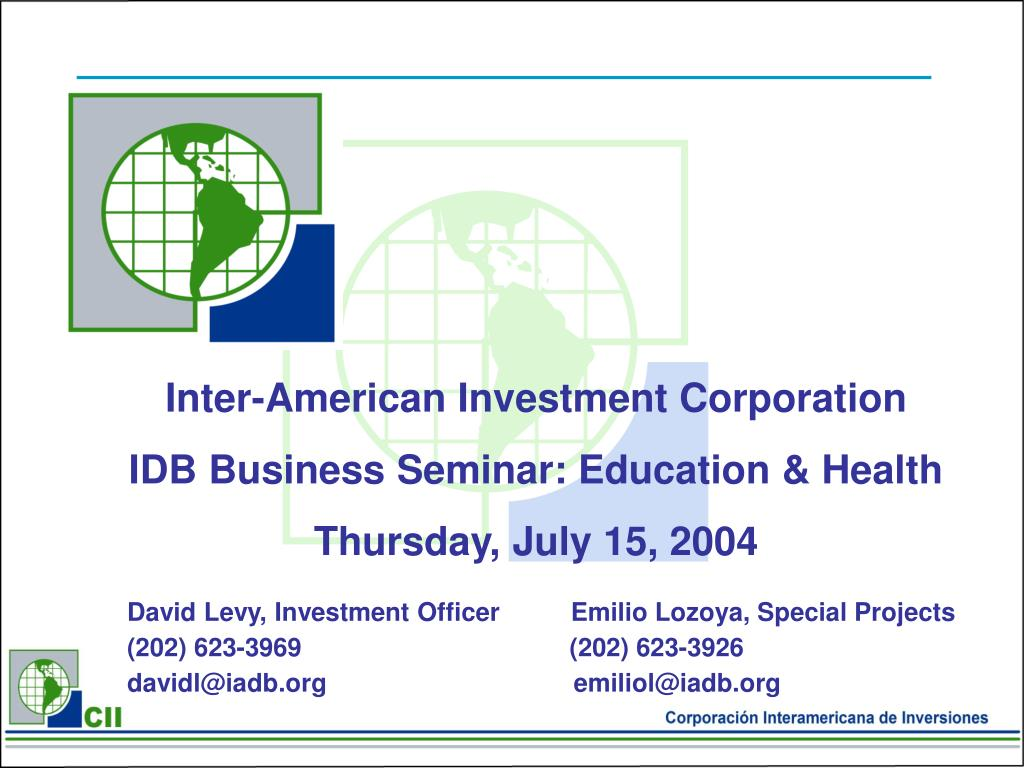 Inter-American Investment Corporation