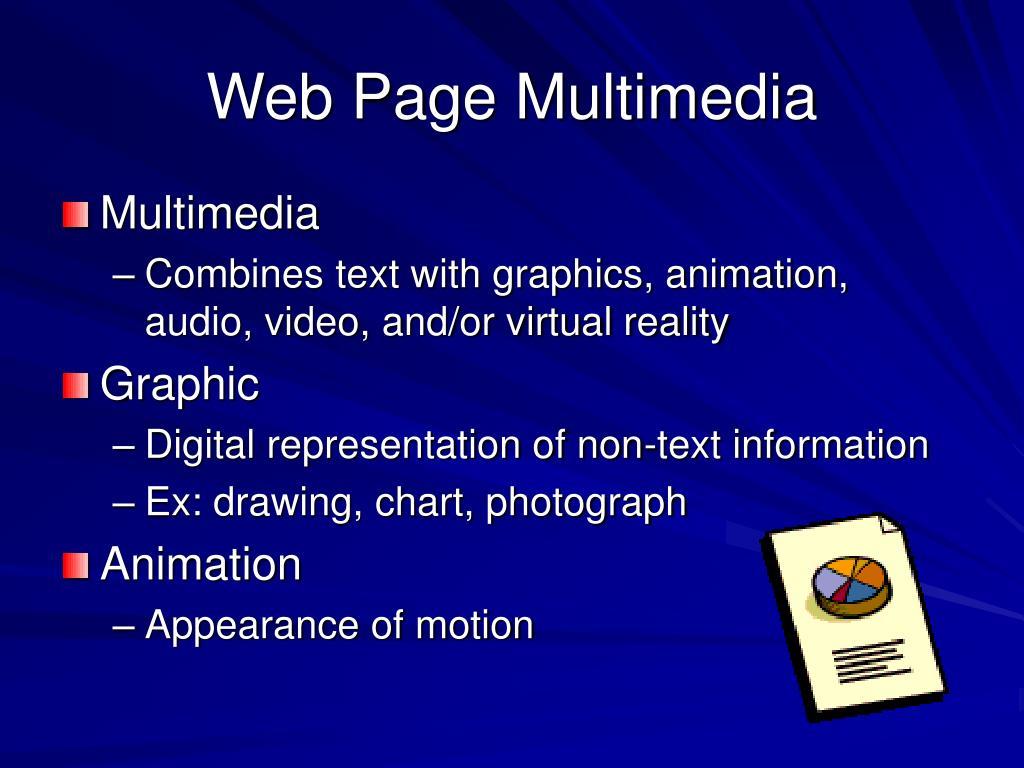 Web Page Multimedia