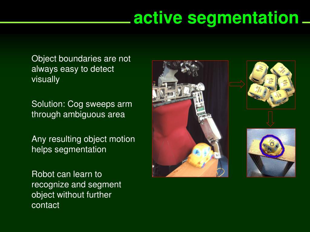 active segmentation