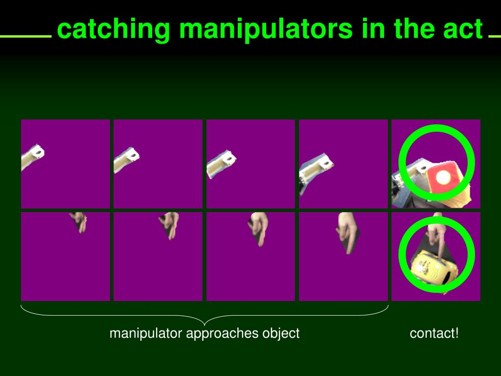 catching manipulators in the act