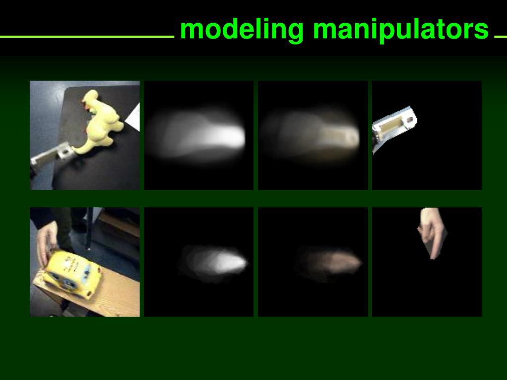 modeling manipulators