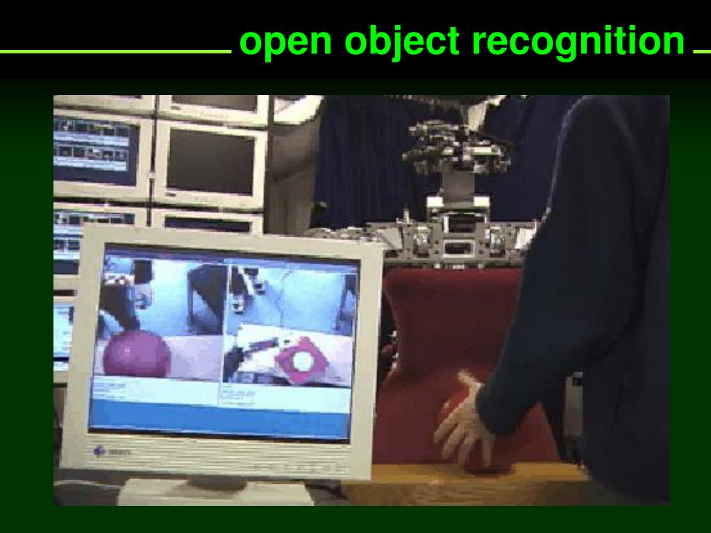open object recognition