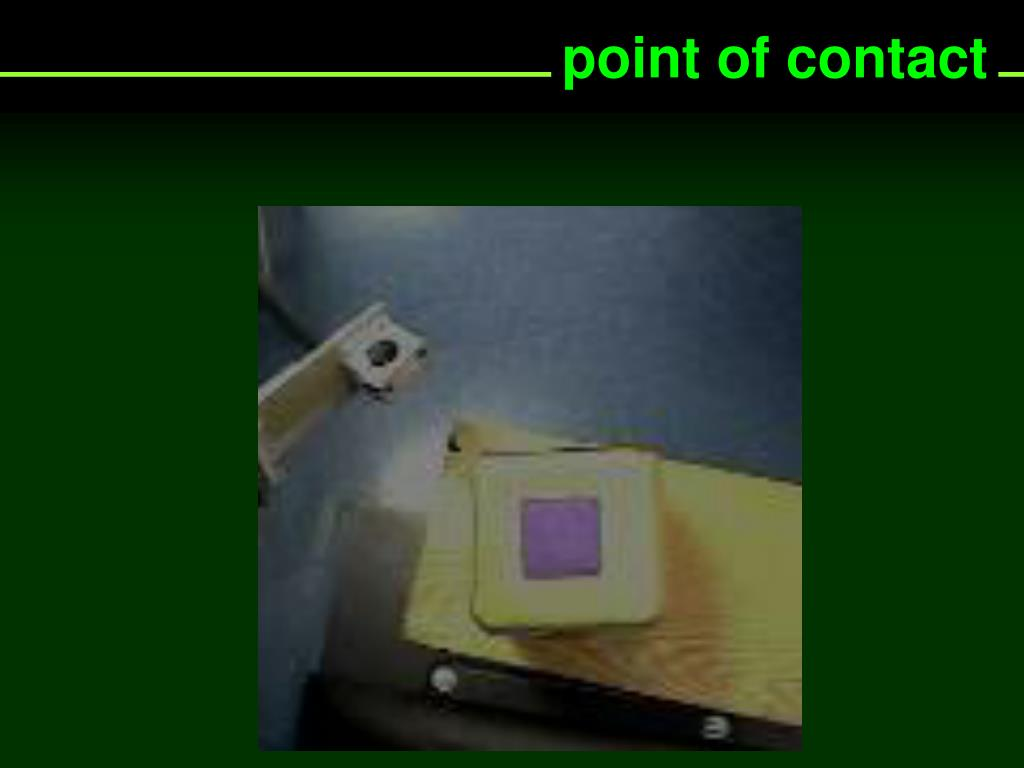 point of contact
