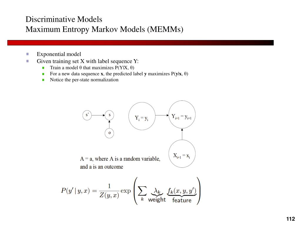 Discriminative Models