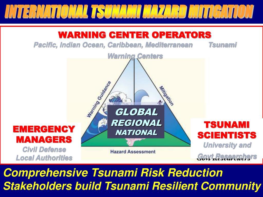 INTERNATIONAL TSUNAMI HAZARD MITIGATION