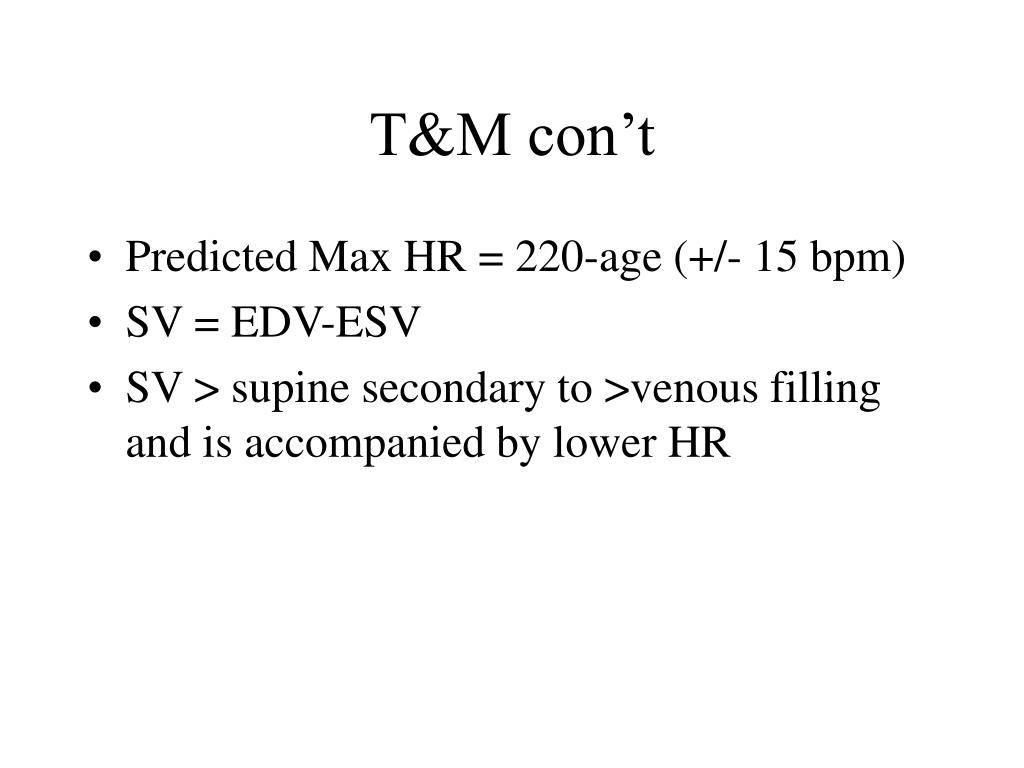 T&M con't