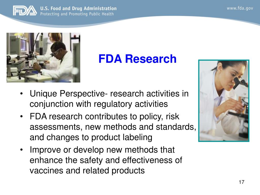 FDA Research