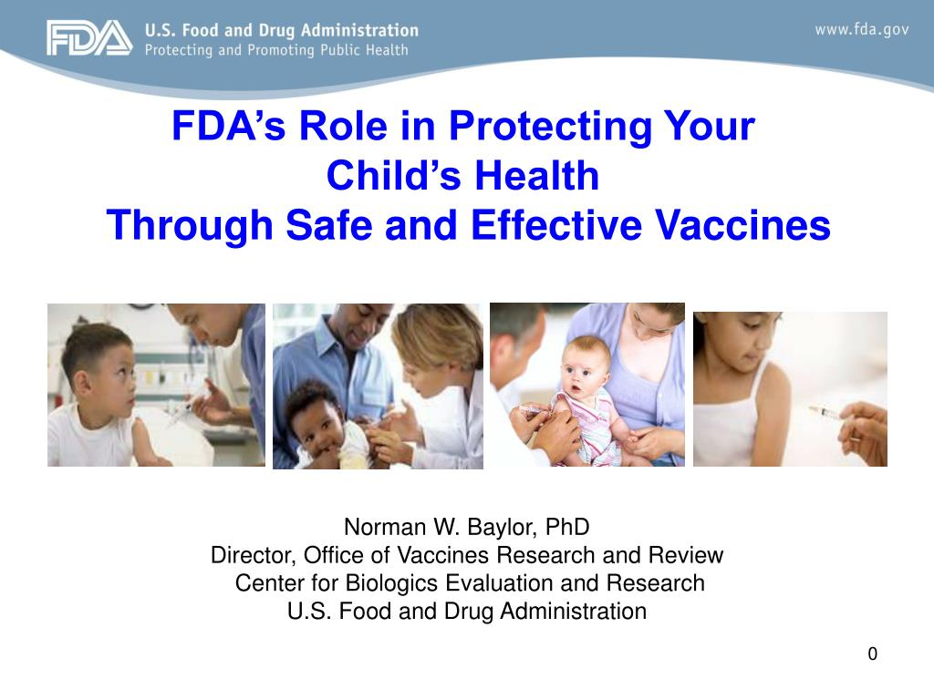 FDA's Role in Protecting Your