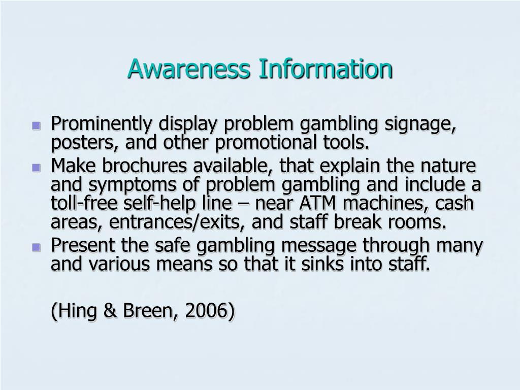 Awareness Information