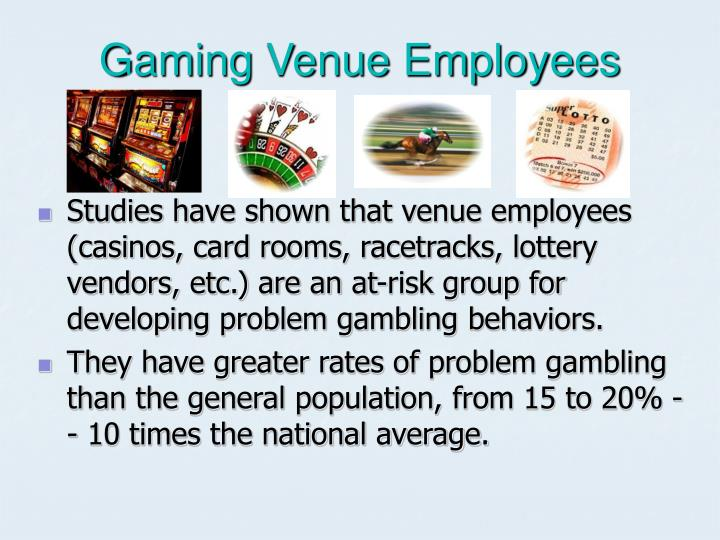 Gaming venue employees l.jpg