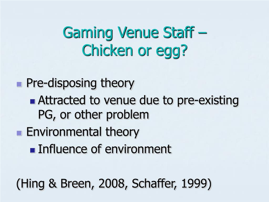 Gaming Venue Staff –