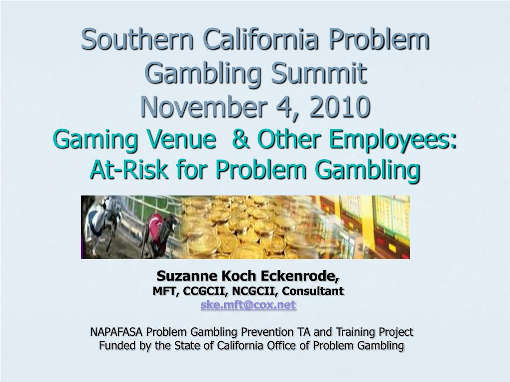 Southern California Problem Gambling Summit