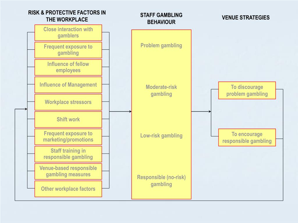 RISK & PROTECTIVE FACTORS IN THE WORKPLACE