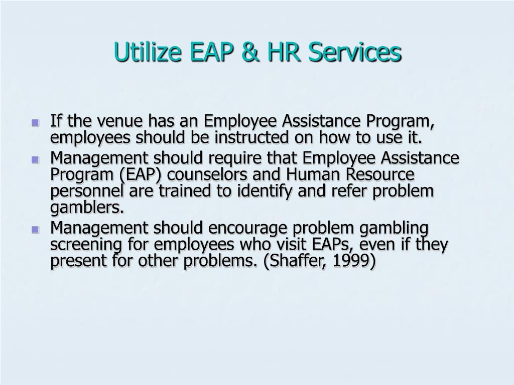 Utilize EAP & HR Services