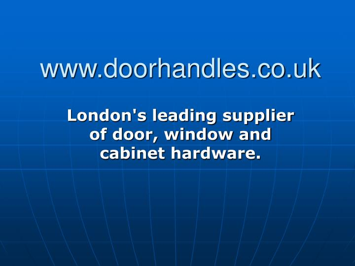 Www doorhandles co uk