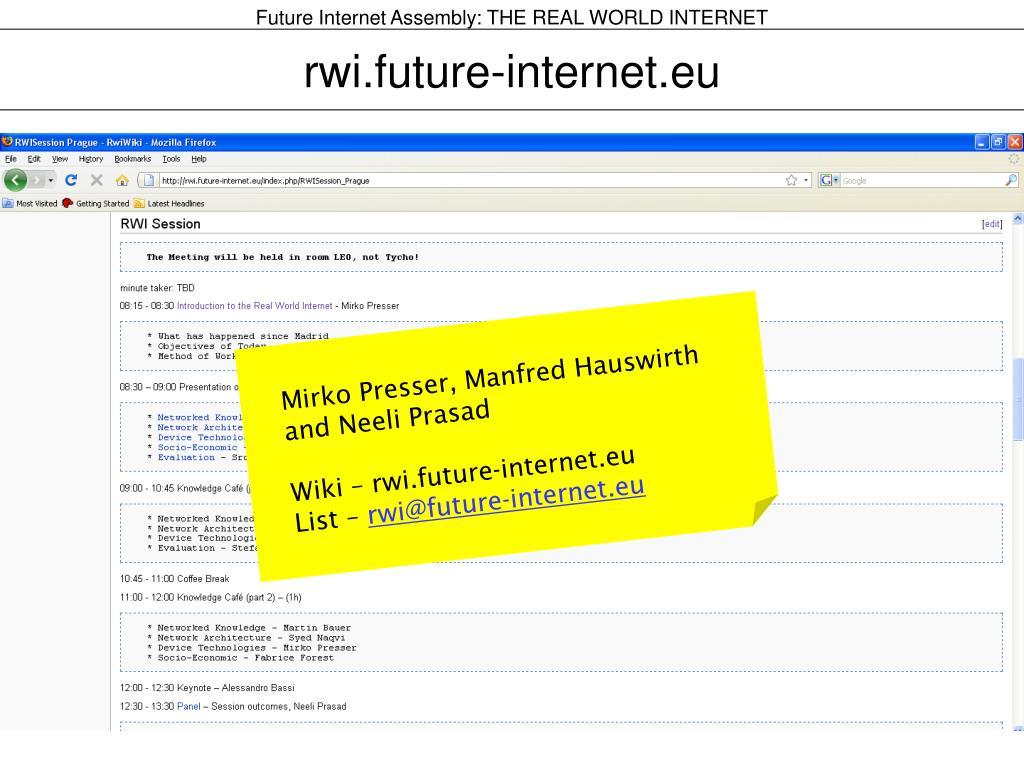 rwi.future-internet.eu
