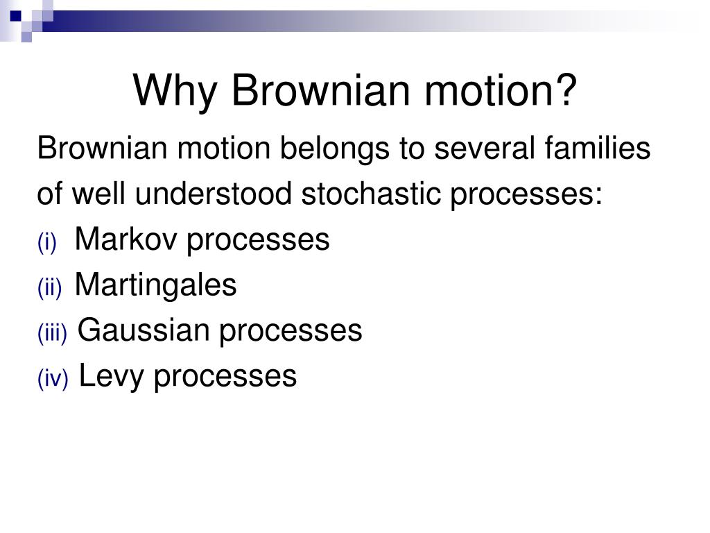 Forex brownian motion