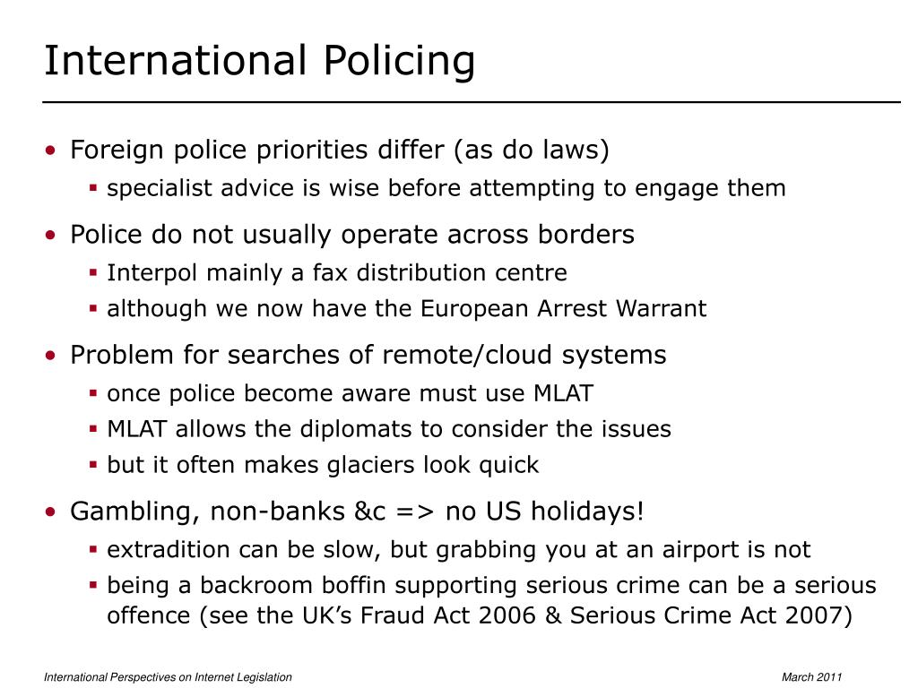 International Policing