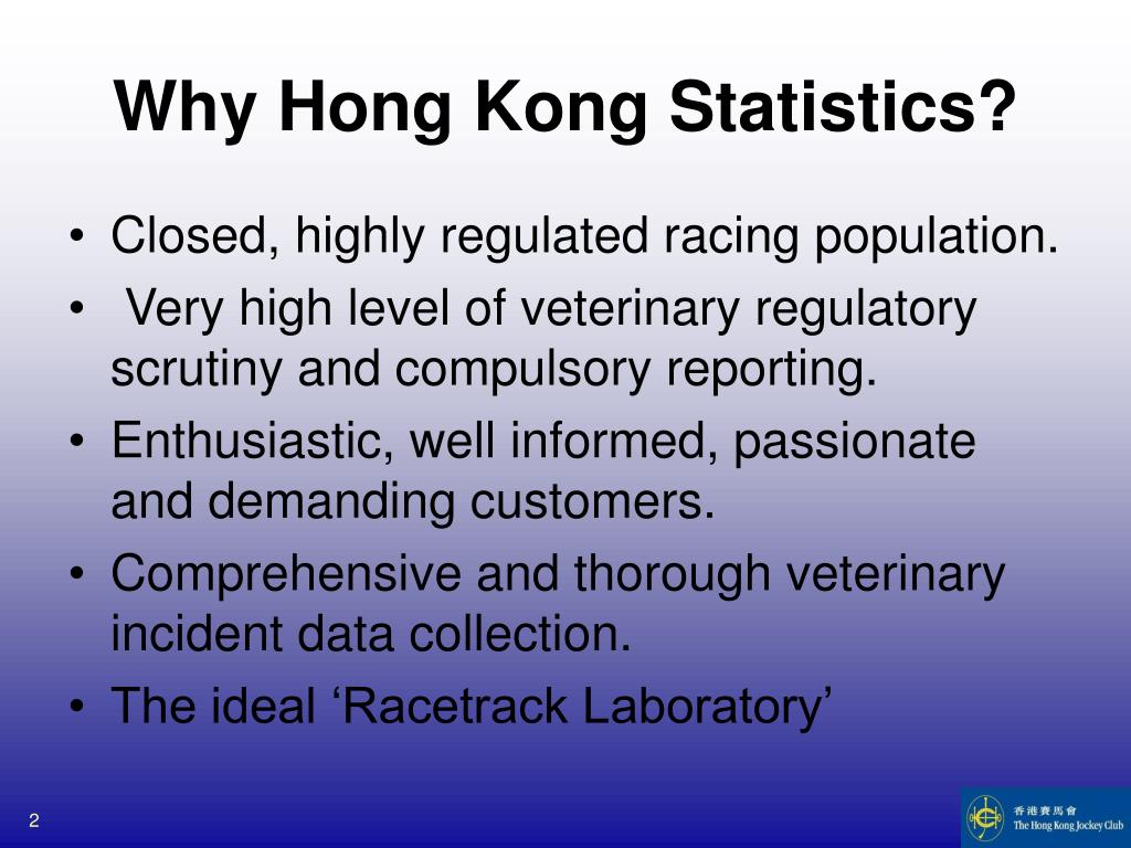 Why Hong Kong Statistics?