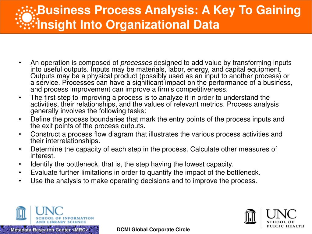 Business Process Analysis: A Key To Gaining Insight Into Organizational Data