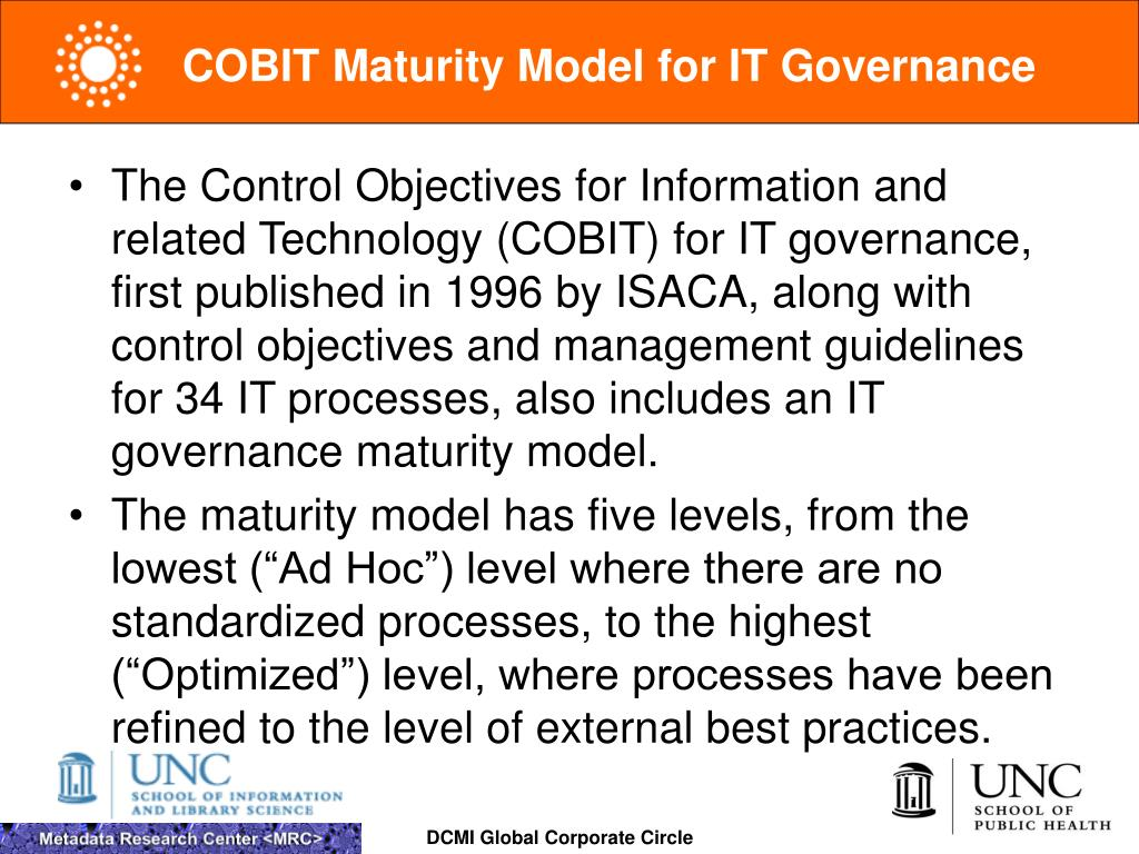 COBIT Maturity Model for IT Governance