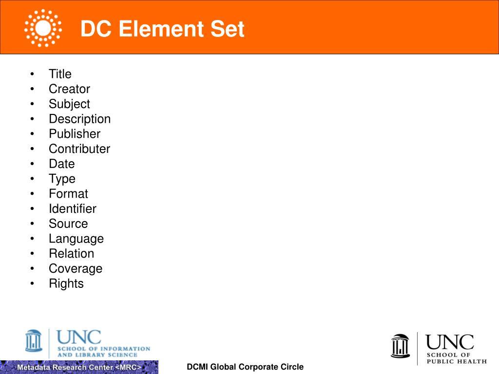 DC Element Set