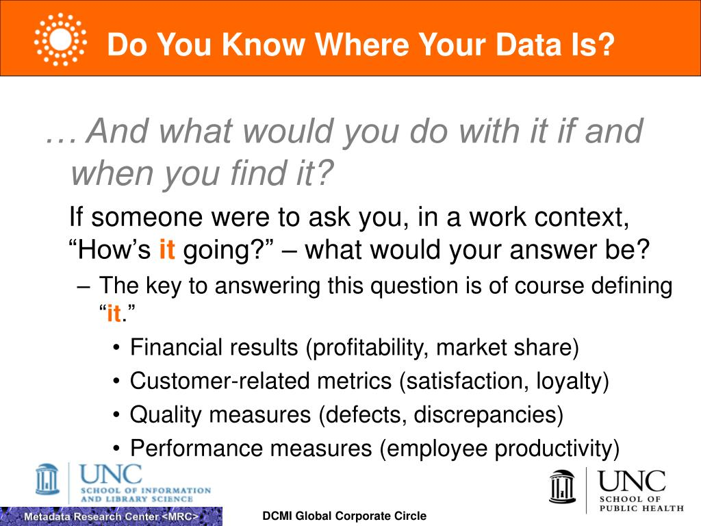 Do You Know Where Your Data Is?