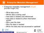 enterprise metadata management