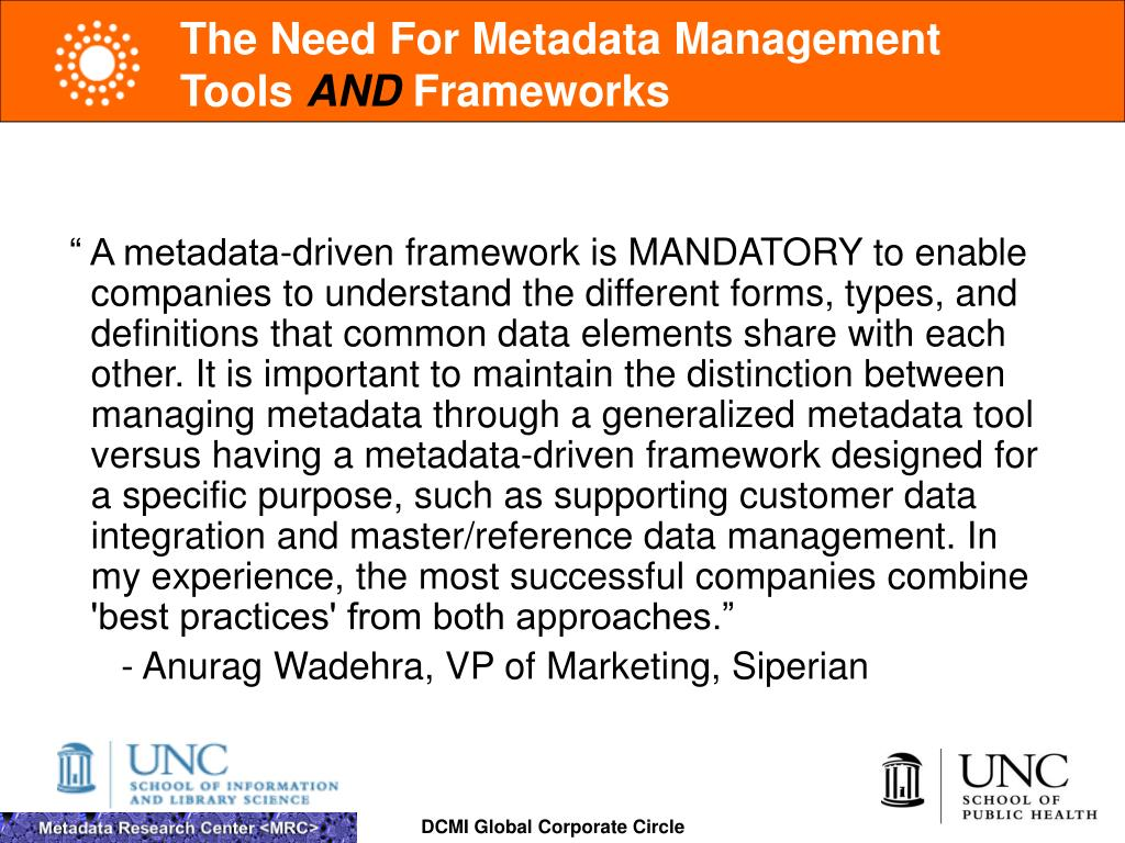 The Need For Metadata Management Tools
