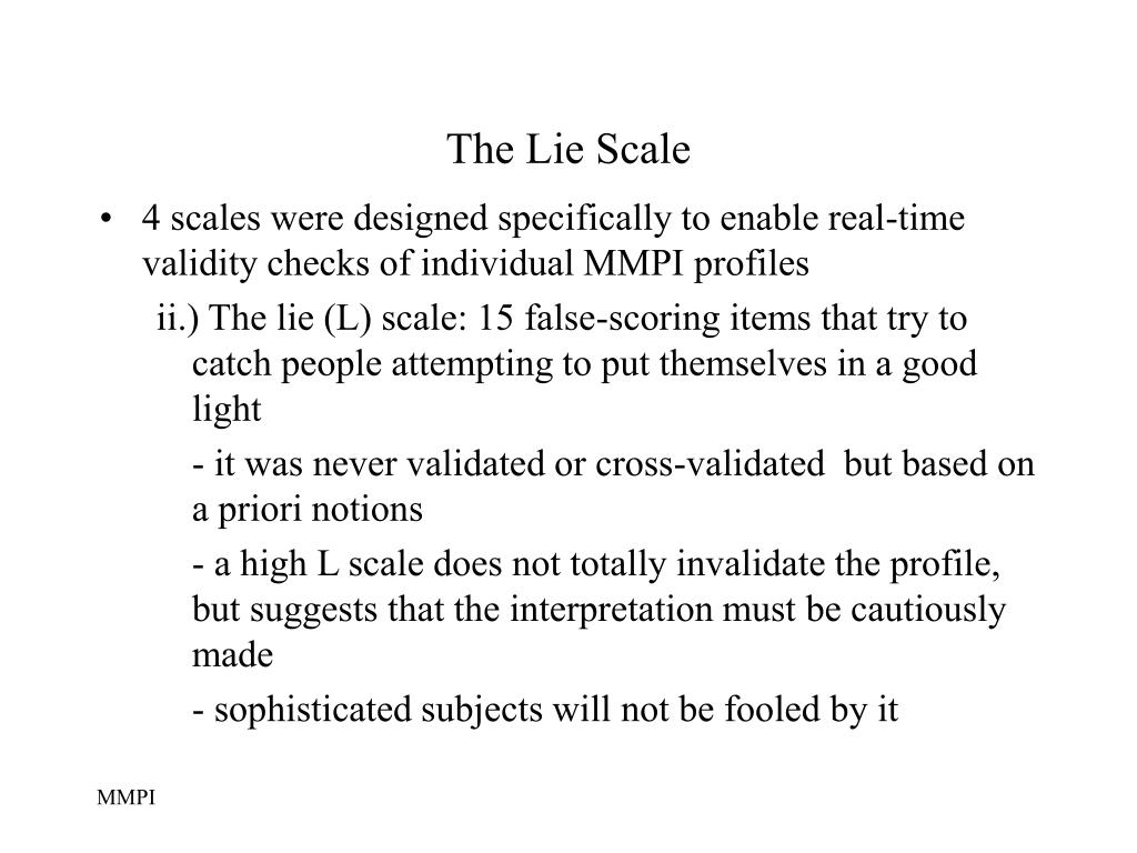 The Lie Scale