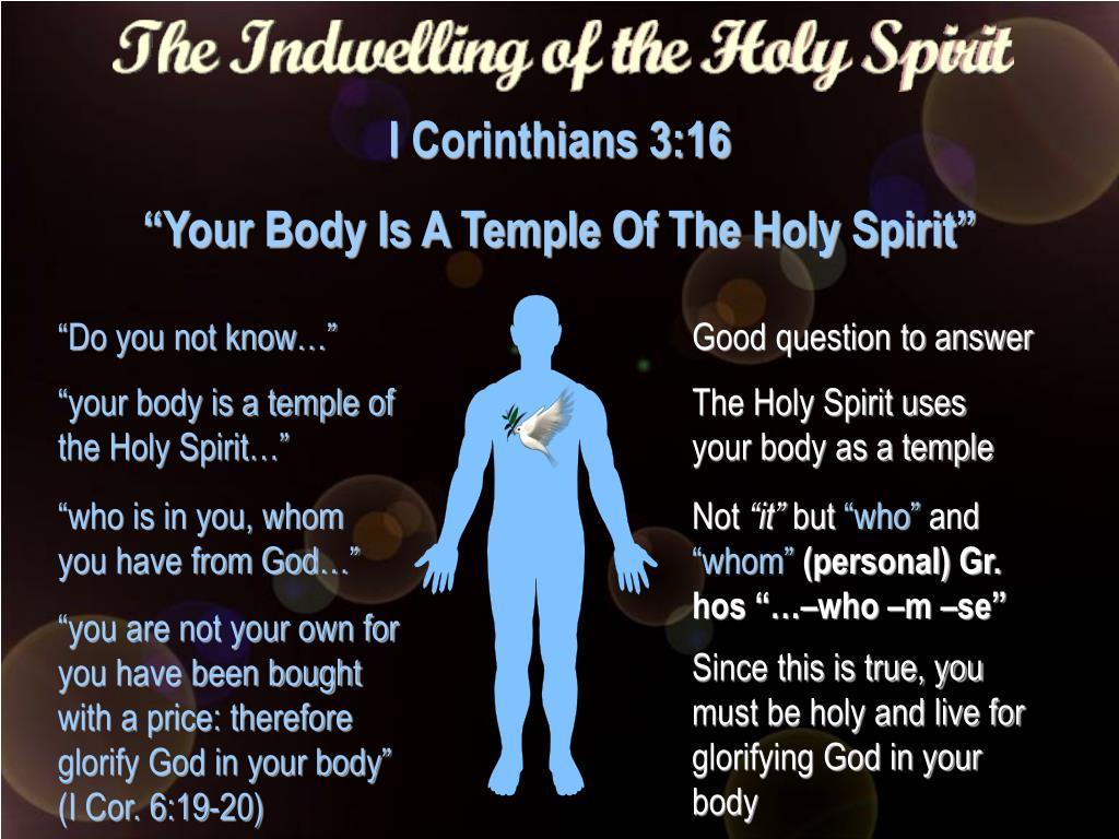 I Corinthians 3:16