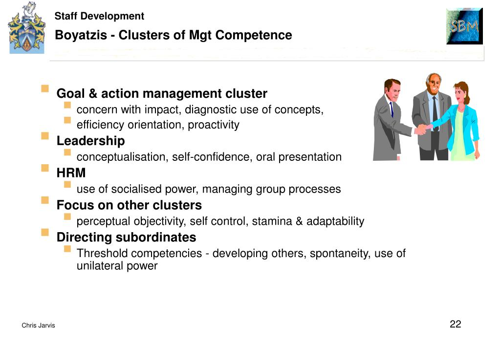 Boyatzis - Clusters of Mgt Competence